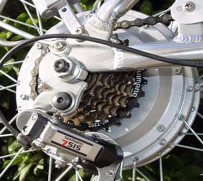 bicicletta elettrica Alba