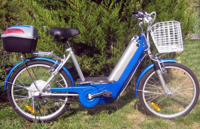 bicicletta elettrica City