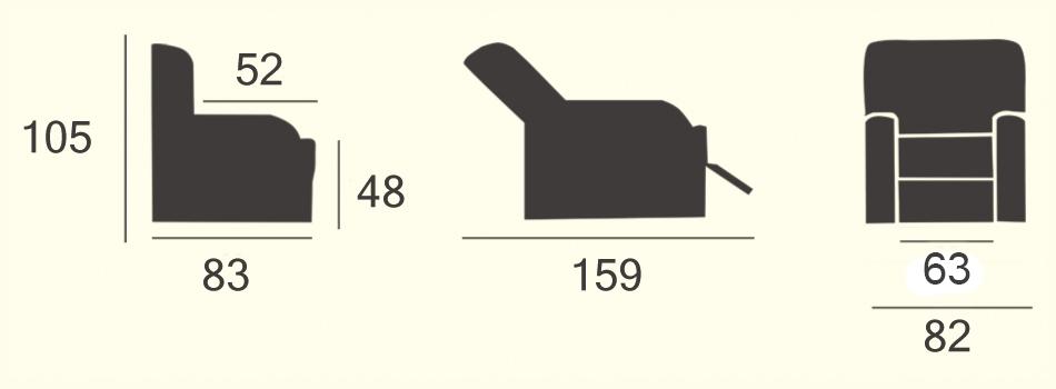 misure-poltrona-ortopedica-Atena-Starmac