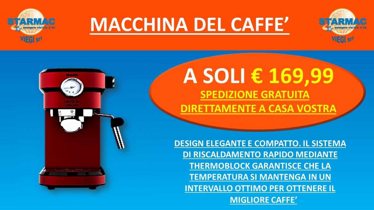 VOLANTINO STRAMAC MACCHINA DEL CAFFè