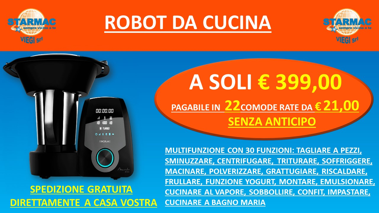 VOLANTINO STRAMAC ROBOT DA CUCINA